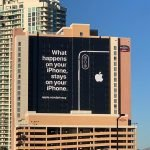 Apple Billboard at the CES